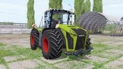 CLAAS Xerion 5000 Trac VC green para Farming Simulator 2017