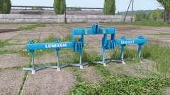 LEMKEN Dolomit 9-400 v2.4 para Farming Simulator 2017