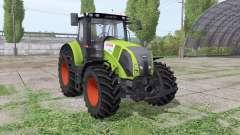 CLAAS Axion 820 green para Farming Simulator 2017