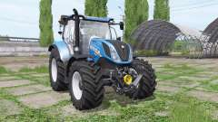New Holland T6.165 loader mounting para Farming Simulator 2017