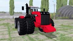 Versatile 535 double wheels para Farming Simulator 2017