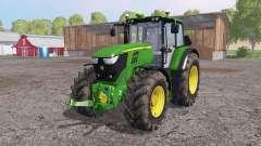 John Deere 6170M loader mounting para Farming Simulator 2015