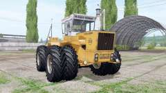 RABA-Steiger 250 twin wheels para Farming Simulator 2017