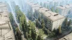 Cidade abandonada v1.1 para MudRunner