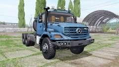 Mercedes-Benz Zetros 3643 AS 6x6 para Farming Simulator 2017