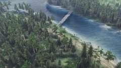 Viagem para o rio Olenka 2 para Spin Tires
