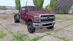 Chevrolet Silverado 4500HD Crew Cab 2018 para Farming Simulator 2017