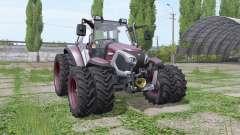 Lindner Lintrac 90 double wheels para Farming Simulator 2017