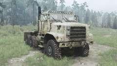 Oshkosh MTVR 6x6 tractor (MK31) para MudRunner