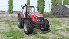 Massey Ferguson 8737 red para Farming Simulator 2017