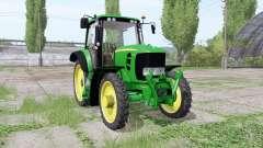 John Deere 7430 Premium narrow tires para Farming Simulator 2017