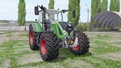 Fendt 724 Vario pneus largos para Farming Simulator 2017