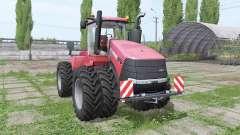 Case IH Steiger 370 double wheels para Farming Simulator 2017