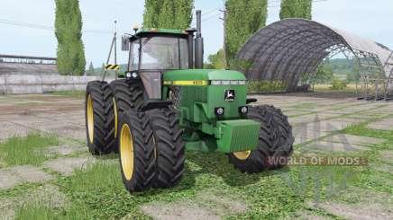 John Deere 4555 v4.0.0.1 para Farming Simulator 2017