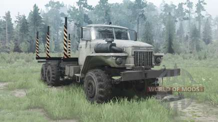 Ural 375Д alongada quadro para MudRunner