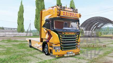 Scania R Topline Lupal para Farming Simulator 2017