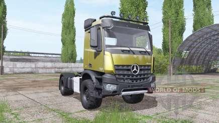 Mercedes-Benz Arocs 2043 2013 v1.2 para Farming Simulator 2017