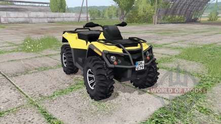 Can-Am Outlander 1000 XT v2.0 para Farming Simulator 2017