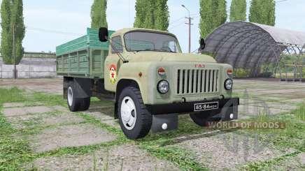GAZ 53 DOSAAF para Farming Simulator 2017