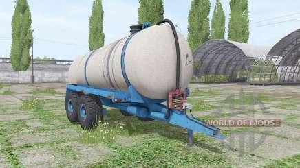 O progresso HTS 100.27 para Farming Simulator 2017