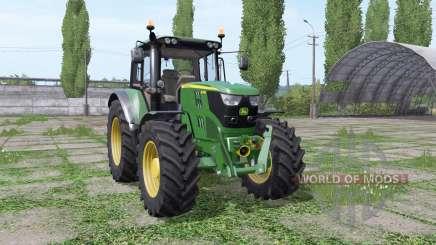 John Deere 6115M wide tyre para Farming Simulator 2017