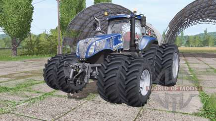 New Holland T8.380 Blue Power v2.0 para Farming Simulator 2017