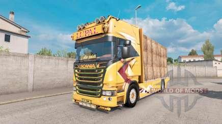 Scania R Topline Lupal para Euro Truck Simulator 2