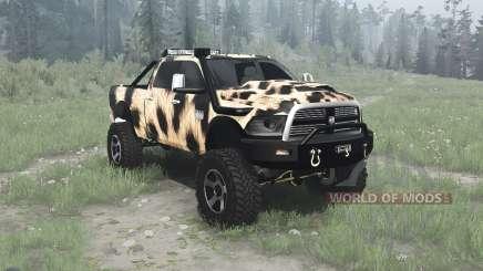 Dodge Ram 2500 Heavy Duty Crew Cab para MudRunner