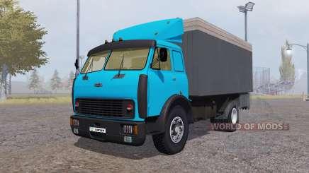 MAZ 500 contentor azul para Farming Simulator 2013