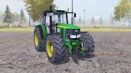 John Deere 6920 green para Farming Simulator 2013