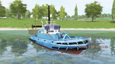 Azul navio para Farming Simulator 2017