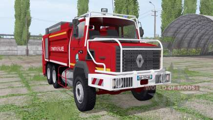 Renault C280 Sapeurs-Pompiers para Farming Simulator 2017