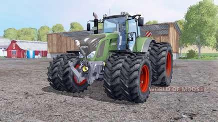Fendt 828 Vario rodas duplas para Farming Simulator 2015