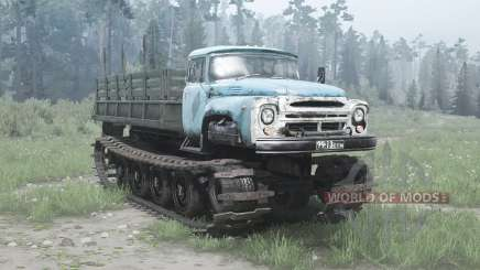 ZIL-1 Russky experientes 1967 para MudRunner