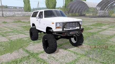 Ford Bronco XLT (U150) 1981 v1.1 para Farming Simulator 2017