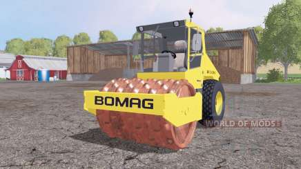 BOMAG BW 214 DH-3 v2.5 para Farming Simulator 2015