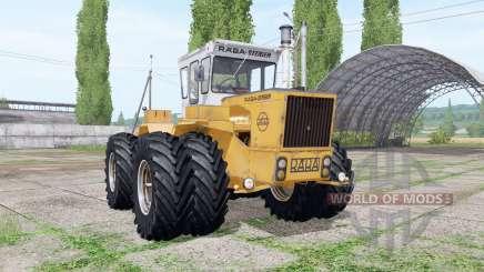 RABA-Steiger 250 twin wheels para Farming Simulator 2017
