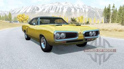 Dodge Coronet RT (WS23) 1970 v2.1 para BeamNG Drive