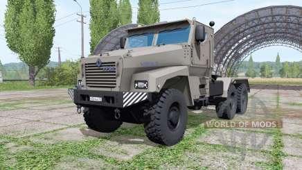 Ural Tufão-U (63095) de 2014 caminhão v1.1.0.1 para Farming Simulator 2017