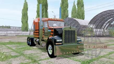 Kenworth W900 v2.0 para Farming Simulator 2017