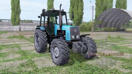 MTZ-1221 Bielorrússia azul para Farming Simulator 2017
