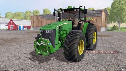 John Deere 8370R Panel IC para Farming Simulator 2015