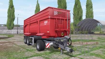 Krampe DA 34 Roadrunner para Farming Simulator 2017