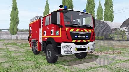 MAN TGM Sapeurs-Pompiers para Farming Simulator 2017