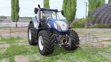 New Holland T7.290 wide tyre para Farming Simulator 2017