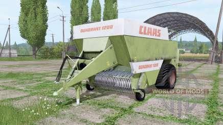 CLAAS Quadrant 1200 old para Farming Simulator 2017