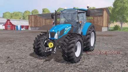 New Holland T5.115 loader mounting para Farming Simulator 2015