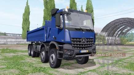 Mercedes-Benz Arocs 3245 K Meiller para Farming Simulator 2017