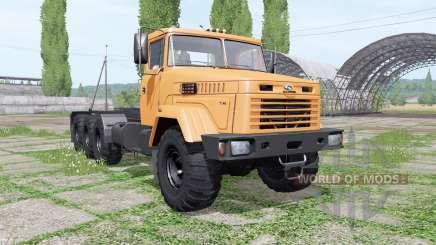 KrAZ 7140Н6 Multilift v1.1 para Farming Simulator 2017