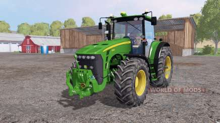 John Deere 8530 extra weight para Farming Simulator 2015